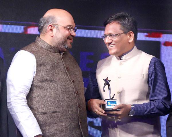 Ashok Mittal with Amit Shah